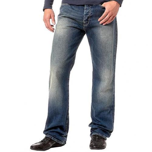 G-Star Herren Jeans Coder Straight Base Denim