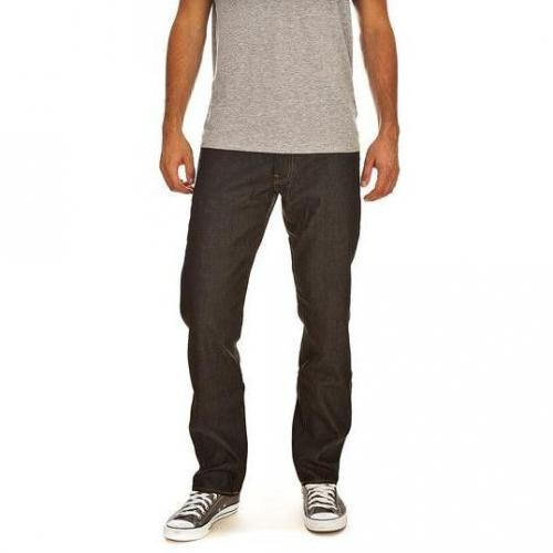 G-Star - Hüftjeans 3301 Straight Raw Brooklyn Denim Dunkelblau