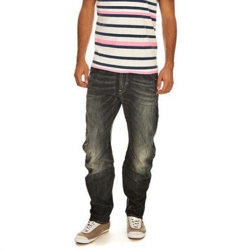 G-Star - Hüftjeans Arc 3D Loose Tapered Relief Embro Rugby Wash Blaue Wa