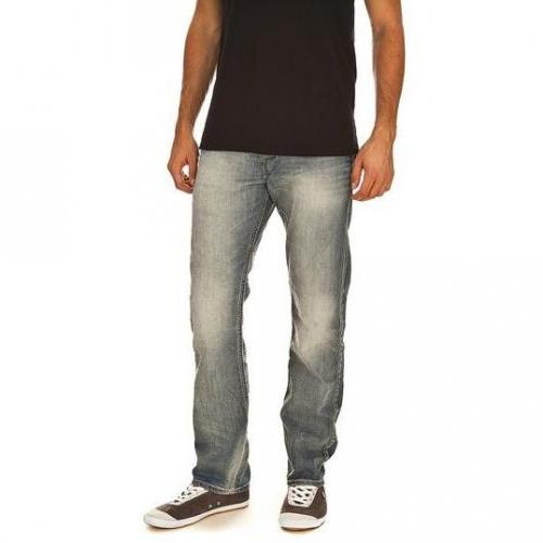 G-Star - Hüftjeans Attacc Straight Light Aged t.p Helle Waschung