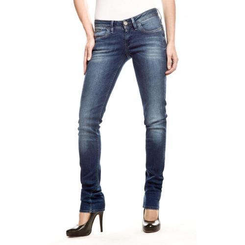 G-Star Midge Colt Skinny Jeans Slim Fit Stone Used Überlänge 36
