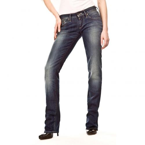 G-Star Midge Länge 36 Straight Jeans Straight Fit Dark Used