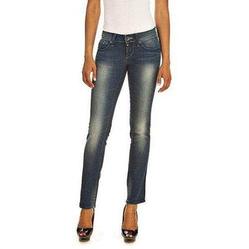 G-Star - Slim Modell midge strght wm medium aged Farbe Blaue Waschung