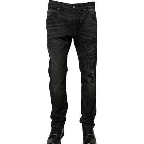 Galliano - 17Cm Skinny Denim Jeans