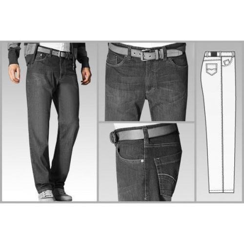 gardeur Five-Pocket-Jeans d'grau BLAKE/71143/85
