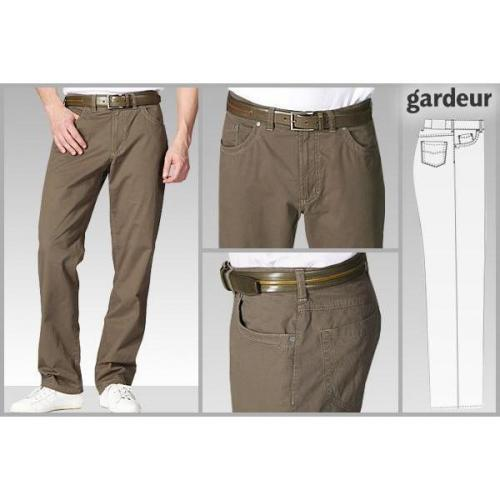 gardeur Pima Cotton Stretch braun NEVIO/41004/28