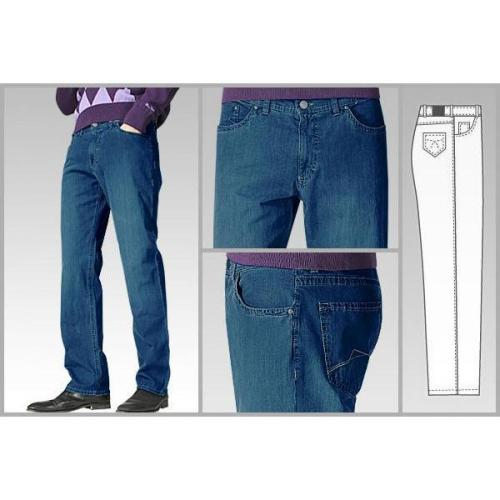 gardeur Pima Denim Stretch stone blue B05/71117/67