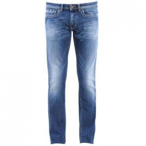 Gas - Hüftjeans Albert N. Denim Straight Blau
