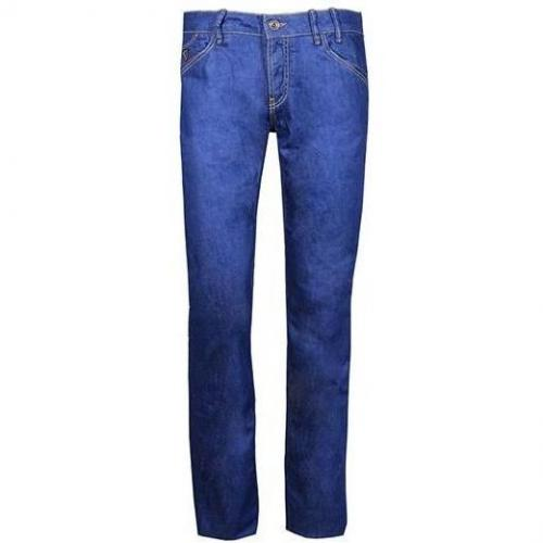 Gas - Hüftjeans Morris N. Denim Straight Blau