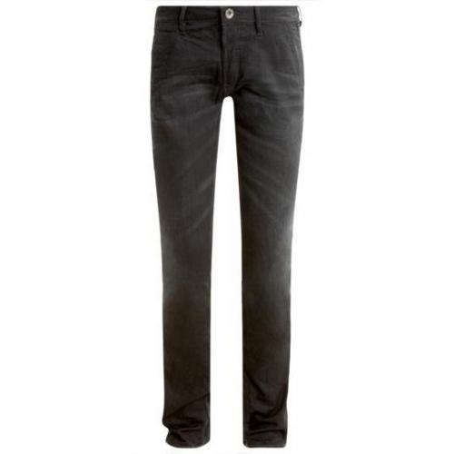 Gas - Slim Albert Chino W566 Schwarz