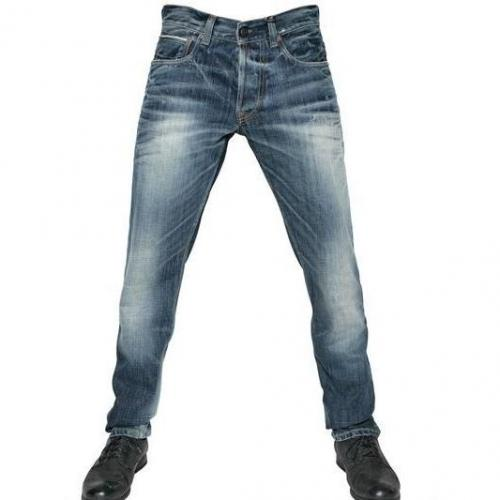 Gilded Age - 19,5Cm Medium Wash Denim Soft Tint Jeans