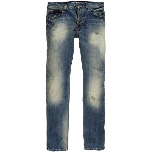 Gilded Age Herren Jeans Baxten Traditional Slim Fit Light Aged Wash LTA Light Aged Wash