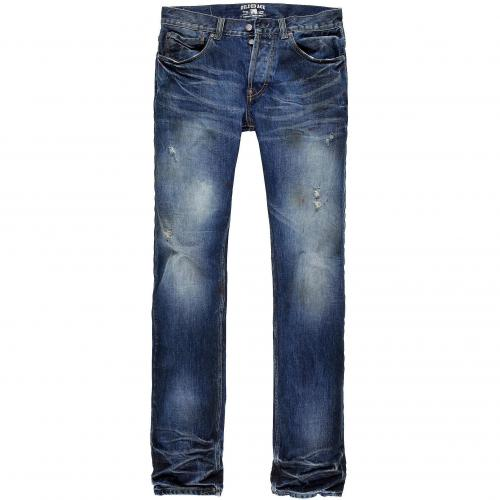 Gilded Age Herren Jeans Gotham Straight Leg Medium Destroyed