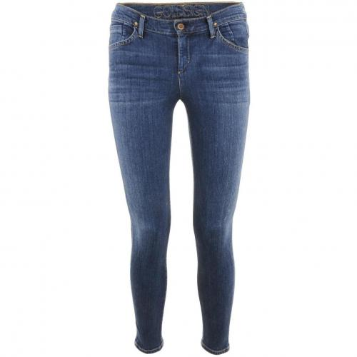 Goldsign Blue Skinny Jeans Virtual Zagir