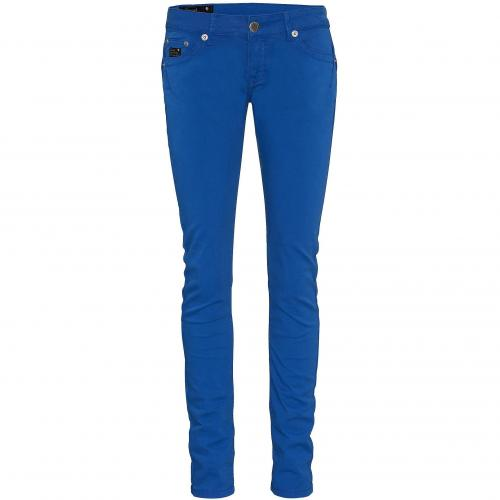 Good Morning Universe Damen Hose Sun Slim Blau