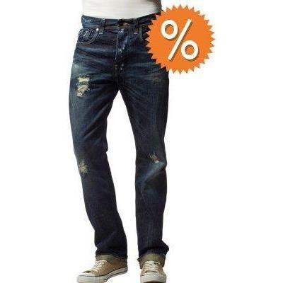 GStar ATTACC STRAIGHT Jeans medium aged destroy