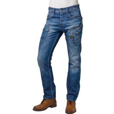 GStar dunkelblau ATTAC STRAIGHT Jeans medium aged