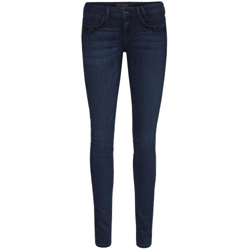 Guess Damen Jeans Starlet Skinny Darkblue