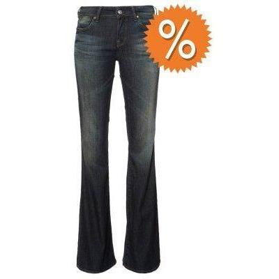 Guess FIT & FLARE Jeans dark angel