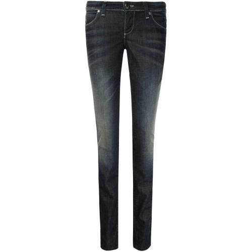 Guess Foxy Skinny Jeans Slim Fit Dark Used