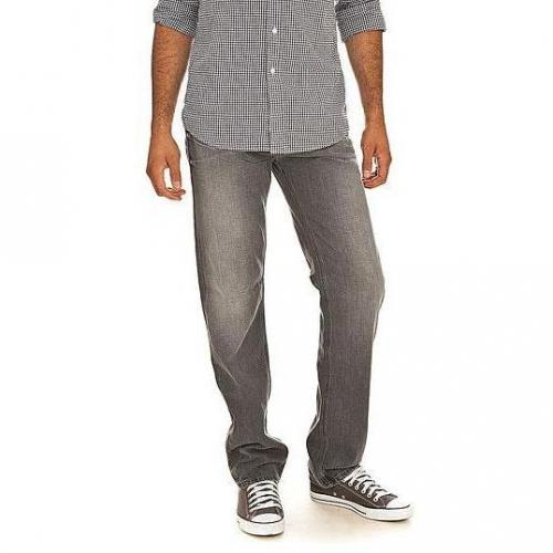 Guess - Hüftjeans Lincoln Metal Grey Grau