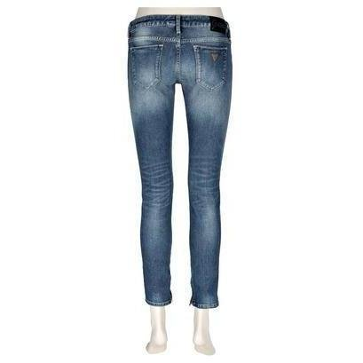 Guess Jeans Beverly Nepe Blau Gewaschen