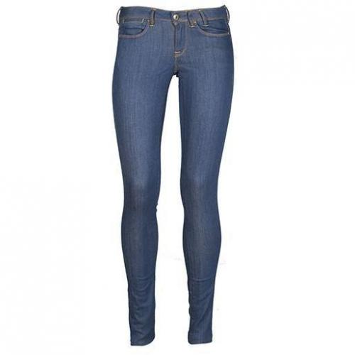 Guess - Skinny Modell Foxy Skinny Bright Rinse Farbe Blau