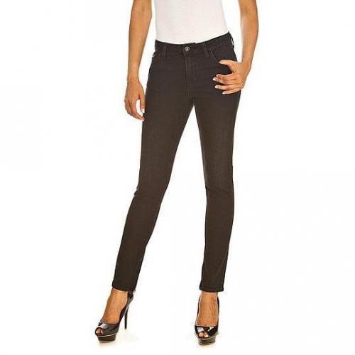 Guess - Slim Modell Beverly High Era Farbe Schwarz