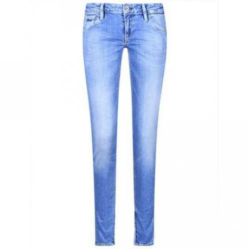 Guess - Slim Modell Beverly New Pediment Farbe Blau
