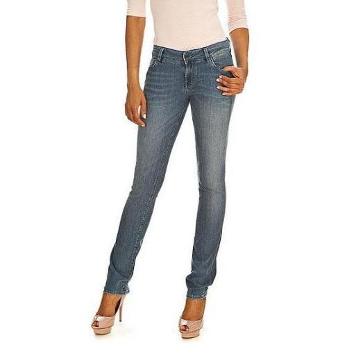 Guess - Slim Modell Starlet Cigarette Gloomy Farbe Helle Waschung
