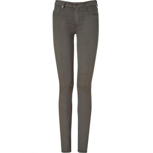 Helmut Lang Mudstone Skinny Jeans