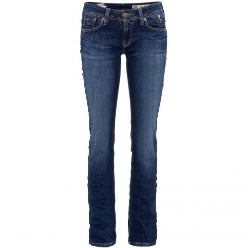 Hilfiger Denim Damen Jeans Suzzy Slim Blue Washed