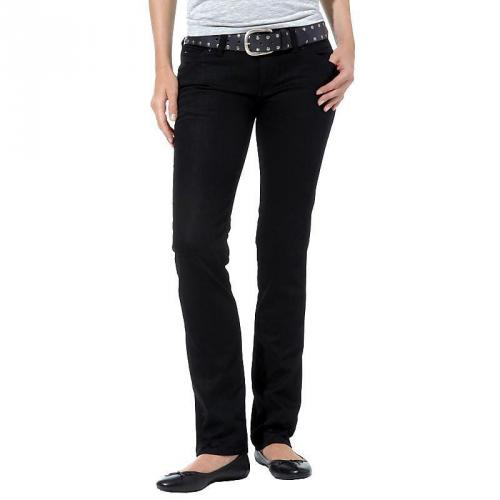 Hilfiger Denim Damen Jeans Victoria Straight Chicago Coated