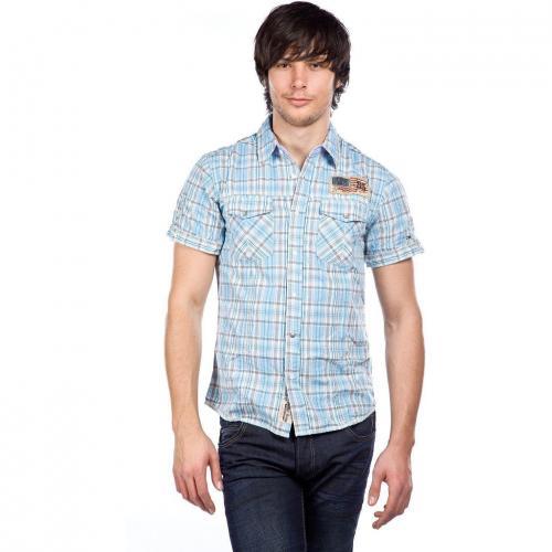 Hilfiger Denim Hemd Blau Kariert