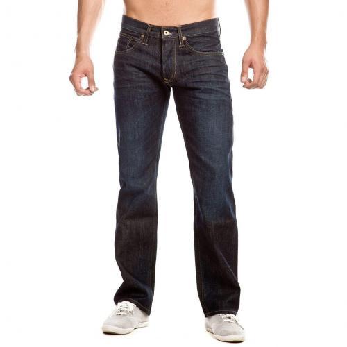 Hilfiger Denim Rogar Regular Jeans Straight Fit Dark Used