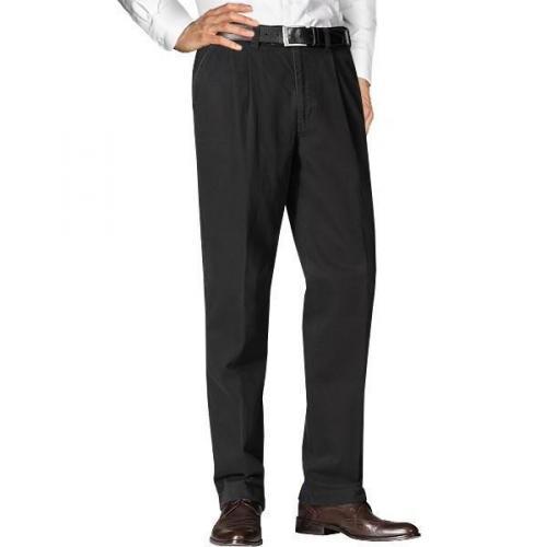 Hiltl Jeans mit Bundfalte schwarz 73790/Hoss/10