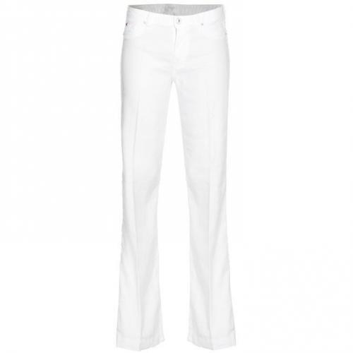 Hudson Ferris Flap Pocket Flare Weiß