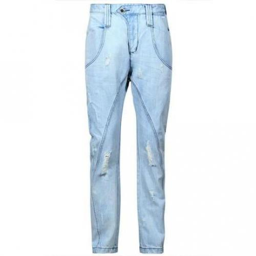 Humor - Relaxed Fit Movito Light Blue Blau