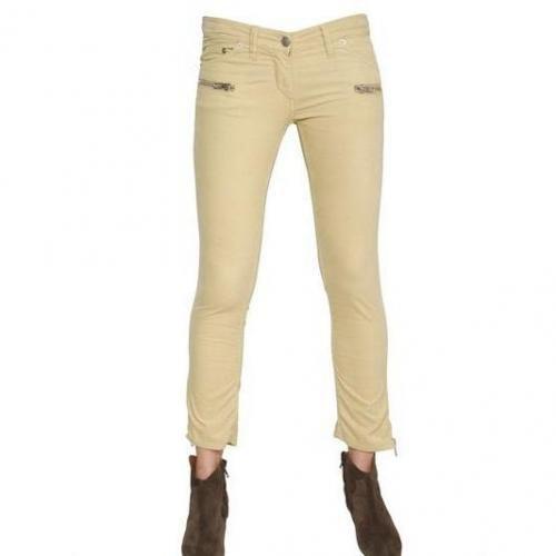 Isabel Marant Ètoile - Zip Stretch Baumwoll Corduroy Jeans
