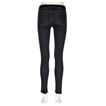 J Brand 620 Mid-Rise Super-Skinny-Jeans Starless Darkblue