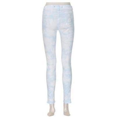 J Brand 811 Mid-Rise Skinny Leg Blue Print
