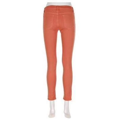 J Brand 811 Mid-Rise Skinny-Leg-Jeans Verkürzt