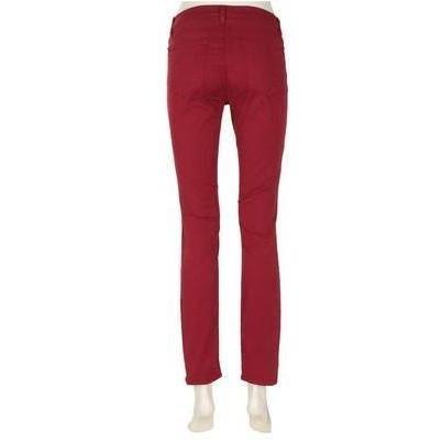 J Brand 811 Skinny-Leg-Jeans Black Cherry