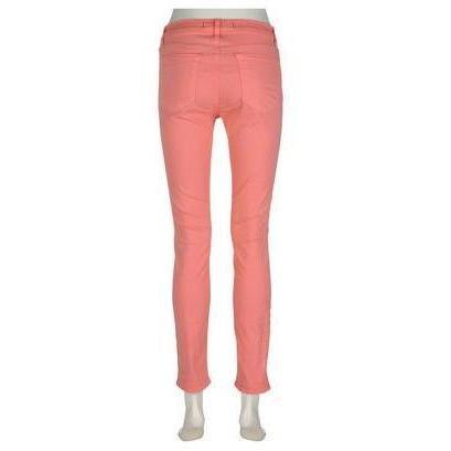 J Brand 811 Skinny-Leg-Jeans Coral