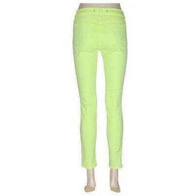 J Brand 811 Skinny-Leg-Jeans Neon Yellow