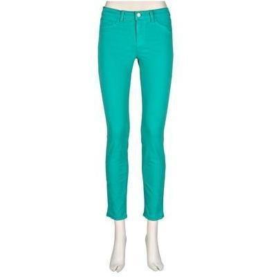 J Brand 811 Skinny-Leg-Jeans St. Tropez Türkis