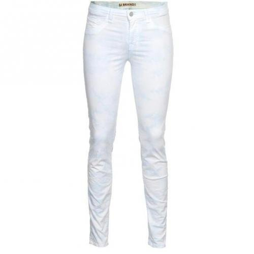 J Brand 811 Skinny Twisted Powder Blau