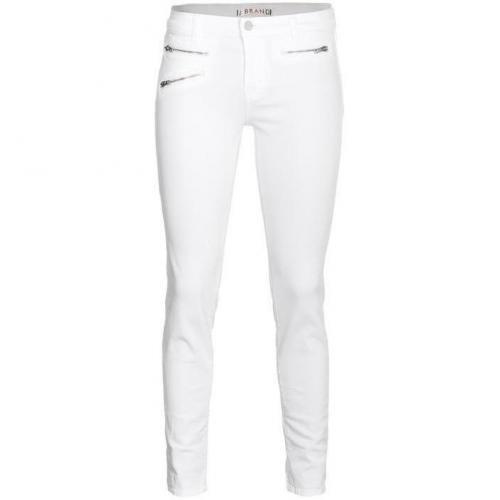 J Brand 821 Zoey Skinny Weiß