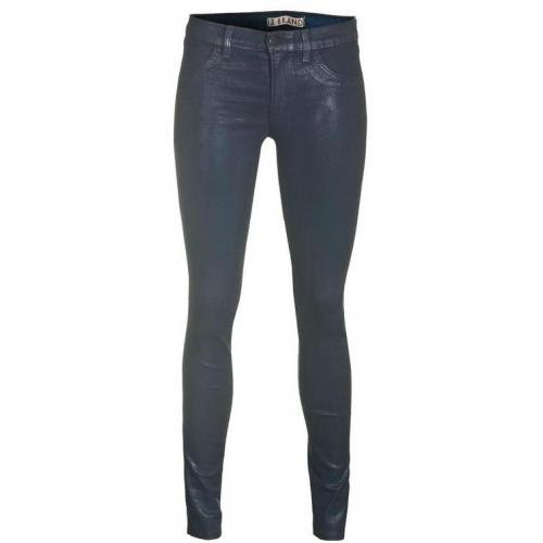 J Brand 901 Skinny Leg Coated Patriot