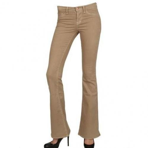 J Brand - Babe Japanese Twill Flared Jeans